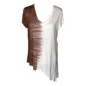 Gilded Intent Asymmetric T Shirt Medium